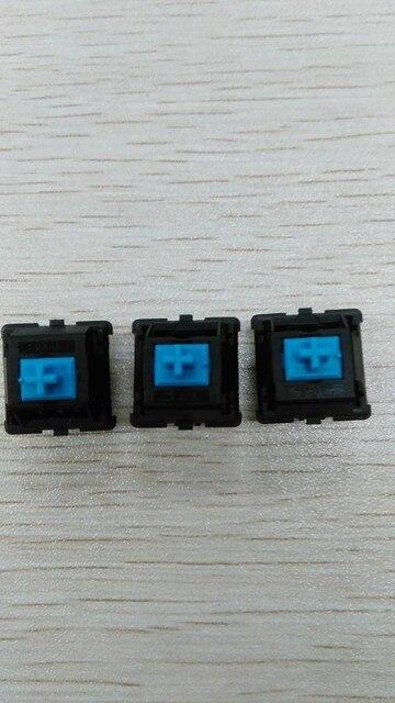 40pcs/lot Mechanical keyboard switch  Original TTC blue shaft switch keyboard switch 3pin