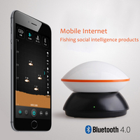 Mobile Internet Bluethtooth 4 0 Pesca Mini Fish Finder Depth 15M Fishing Sounder 125kHz Sonar Wireless