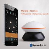 Portable Intelligent Sans Fil Bluetooth Sonar Fish Finder Pêche Alarme Sondeur Pour Android/IOS Téléphone portable Tablet Détecteur De Poissons
