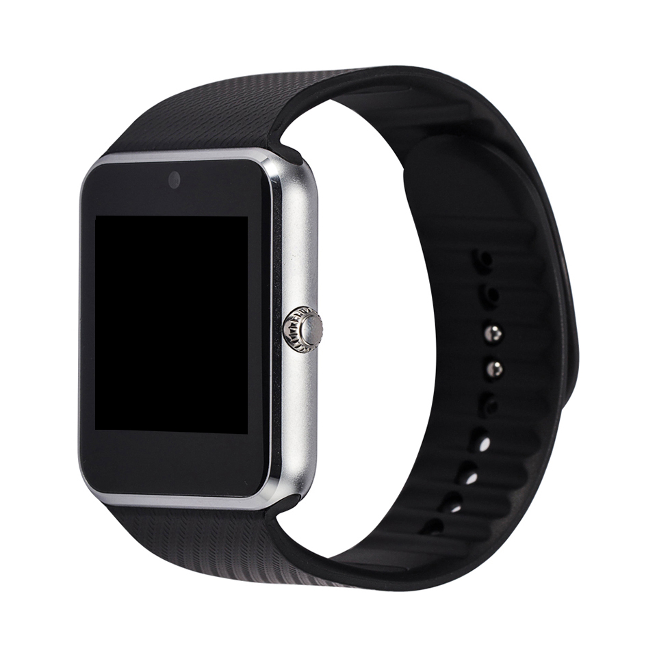 Sale Smart Watch GT08 Clock Sync Notifier Support Sim Card Bluetooth Connectivity For Apple iphone Android