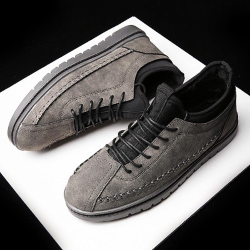 Harajuku Occasionnels 2 1 Tendance Chaussures Hiver Plates Hommes De 3 Chaudes xw5tA1f