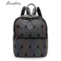 2017 New Bao Bao Women Nano Bag Diamond Lattice Tote Geometry Quilted Backpack Sac Bags Women