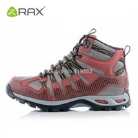Rax Men Winter Hiking Shoes Hiking Boots Breathable Waterproof Tactical Outdoor Sneakers Mountain Climbing Sports Shoes D0547