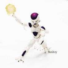 Anime sh figuras dragon ball z forma final frieza estatueta dragão bola freeza pvc figura de ação collectible modelo brinquedo 12cm(China)