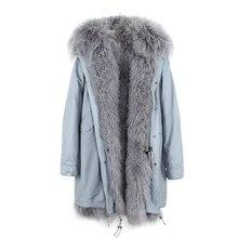 JAZZEVAR New High Fashion Women's Luxurious Lamb Fur Hooded Coat Outwear Winter Jacket