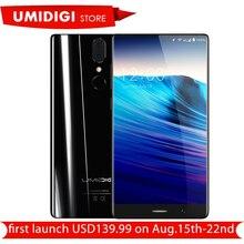 Umidigi Кристалл Ободок-менее Дисплей Android-смартфон MTK6750T Восьмиядерный 4 ГБ Оперативная память 64 ГБ Встроенная память 5.5″ марка мобильного телефона предпродажа