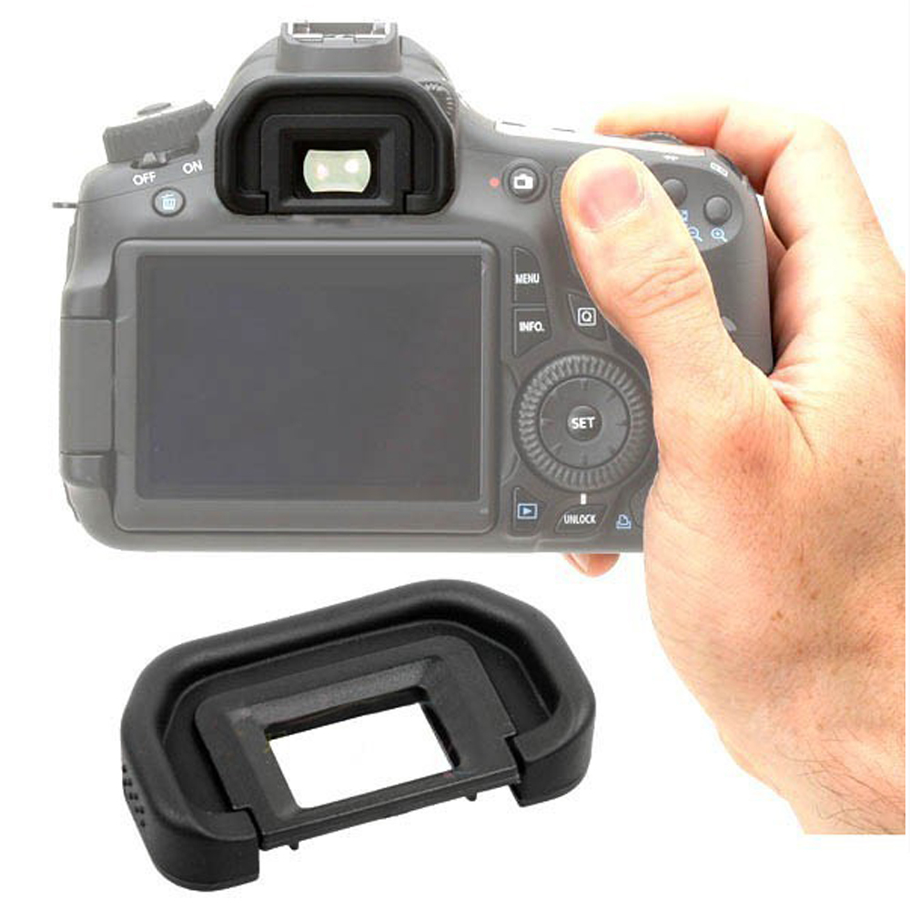 Eyecup EB Rubber Eye Cup Viewfinder Eyepiece  For Canon EOS 6D 70D 60D 60Da 50D 5D Mark II 5D2 40D  Eye Piece Viewfinder Goggles