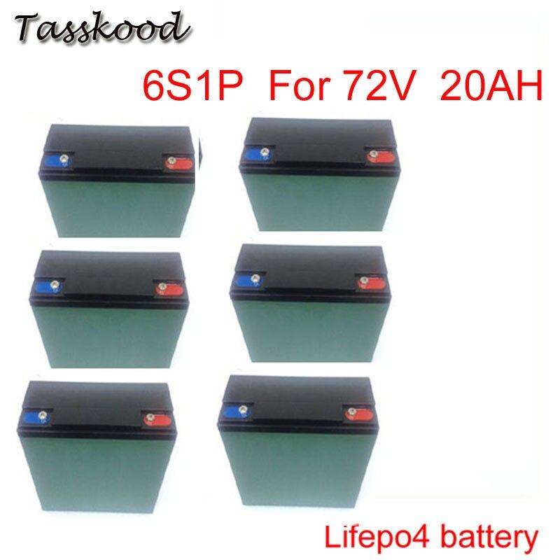 Глубокий цикл батареи 12 В 20Ah железа лития Батарея LiFePO4 пакет Питание Солнечный свет fit Электрический велосипед и электрический автомобиль