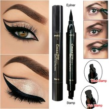 Eyeliner Pencil  Eye Makeup Double Head Black Quick Dry Eyeliner Waterproof Makeup maquiagem