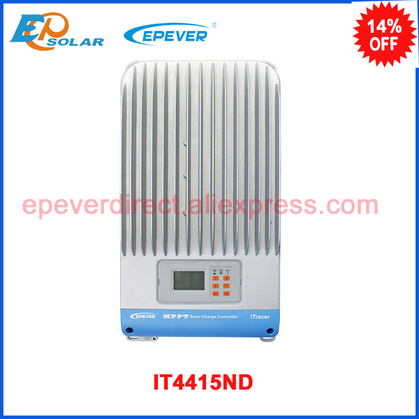 MPPT Solar tracking controller IT series IT4415ND 48v 2400w 36v 1800w solar panel system work EPEVER Regulator 45A 45amps