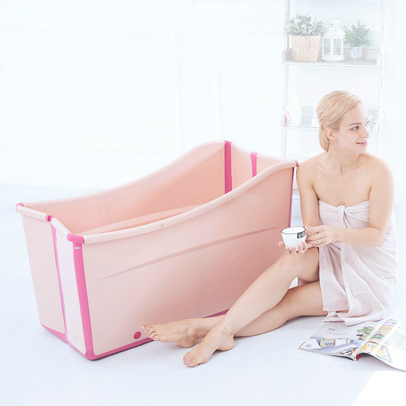 Large bathtub twins Baths for children foldable bathtub Material Safety adults available