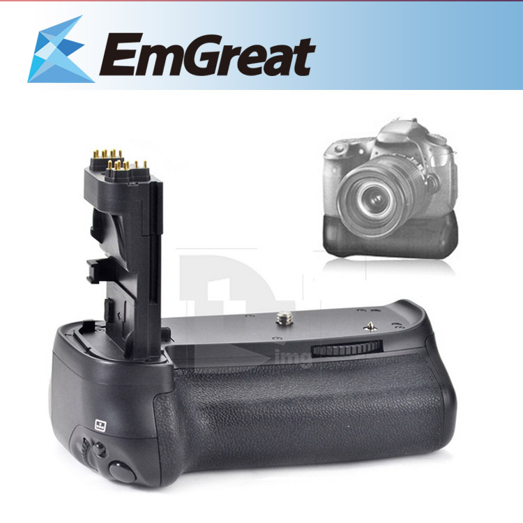 цена на Meike BG-E14 Multi-Power Battery Pack Battery Holder Grip for Canon 70D 80D with 2 Battery Holders for LP-E6 AA Batteries