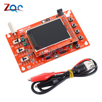 1Set DSO138 2 4 TFT Digital Oscilloscope Assembled SMD Soldered Oscilloscope Parts 1Msps With Matching Wire