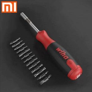 Image 1 - Original xiaomi Mijia Wiha daily screwdriver set 26 in 1 precision drill bit with hidden magic box set repair parts