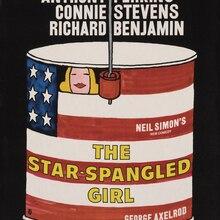Lienzo pintura retrato película pósteres estampado vintage arte moderno decorativo paisaje artístico The Star Spangled Girl cartel gigante
