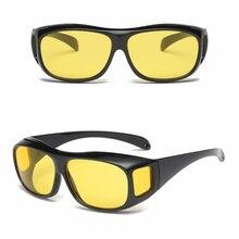 2 шт., очки для водителя с ночным видением, унисекс, HD vision, солнцезащитные очки, очки для вождения автомобиля, УФ-защита, поляризованные солнцезащитные очки, очки