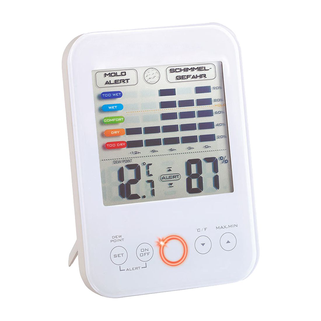 Digital Hygrometer Thermometer Electronic Lcd