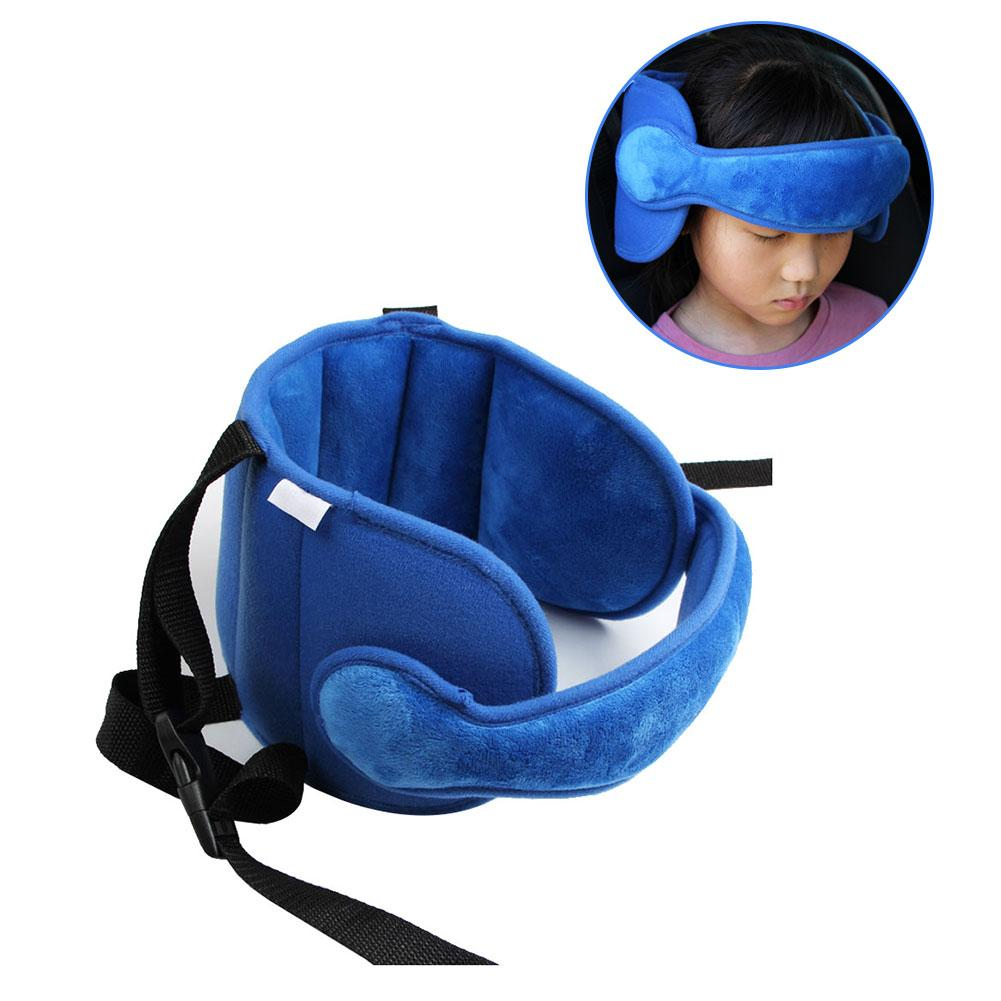 Child Head Fixed Sleeping Pillow Car Seat Travel Pillow Kid Head Neck Protection Headrest Adjustable Support Pad for Baby Safety
