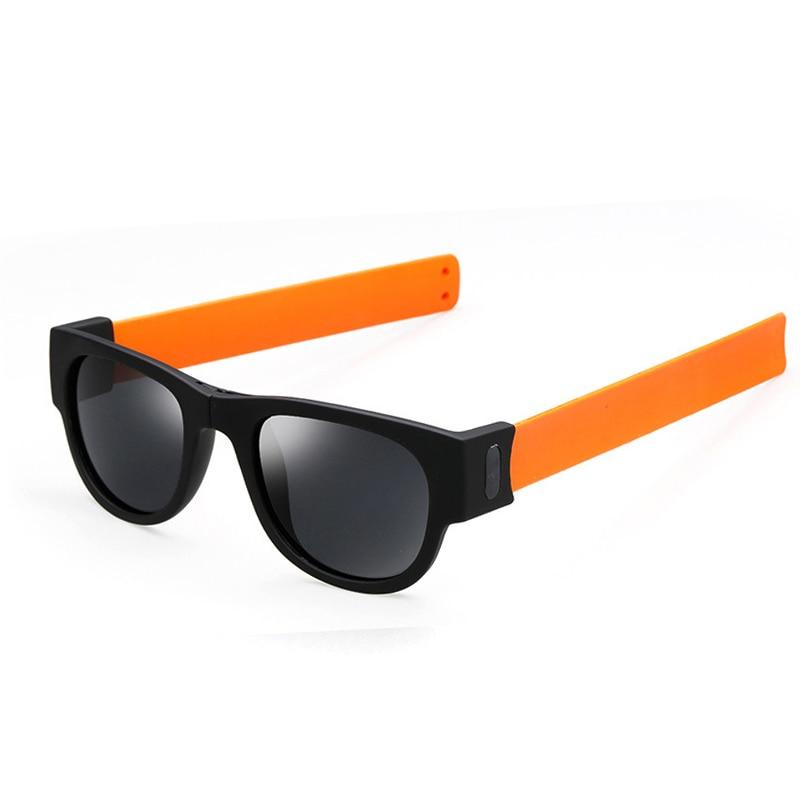 Módní zbrusu nové polarizované sluneční brýle ženy muži barevné skládací sluneční brýle klasický značkový designér UV400 žena Oculos 2017