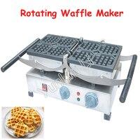 Máquina de waffle de gerencio com grade pequena/grande 220 v bolo de waffle comercial que faz a máquina FY-2201-A/FY-2201-B