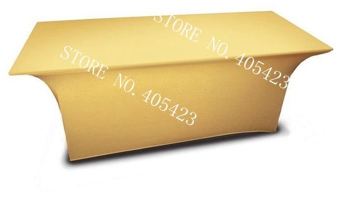5pcs / lot, 6ft Premium kakovost spandex Lycra namizni pokrov Trestle - Domači tekstil - Fotografija 5