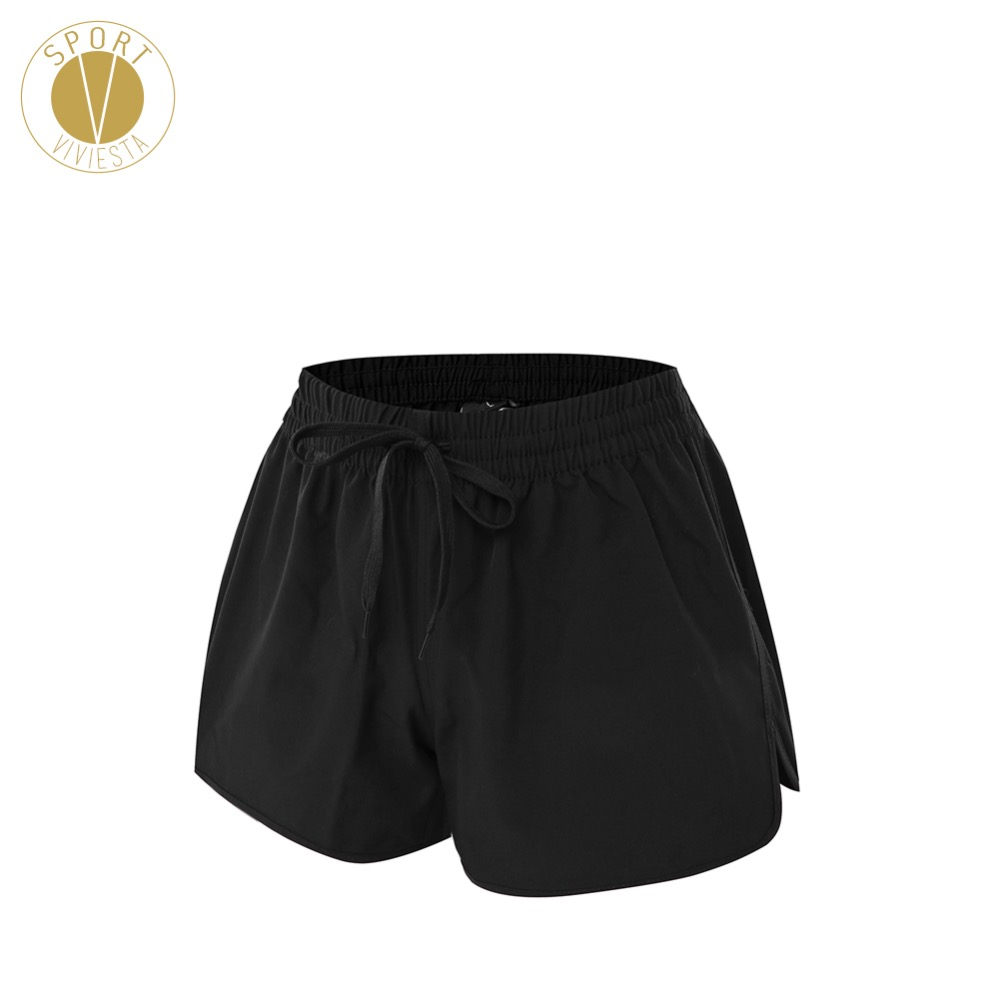 Elastic Waistband Run Sports Shorts - Womens Running Marathon Outdoor Exercise Quick Dry Loose Fit Shorts Plus Size Large 3XL