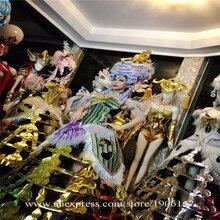 Costume Model Catwalk Showcase Show Party Clothing European Court Props Clothes Led Luminous Novel Cosplay Suit