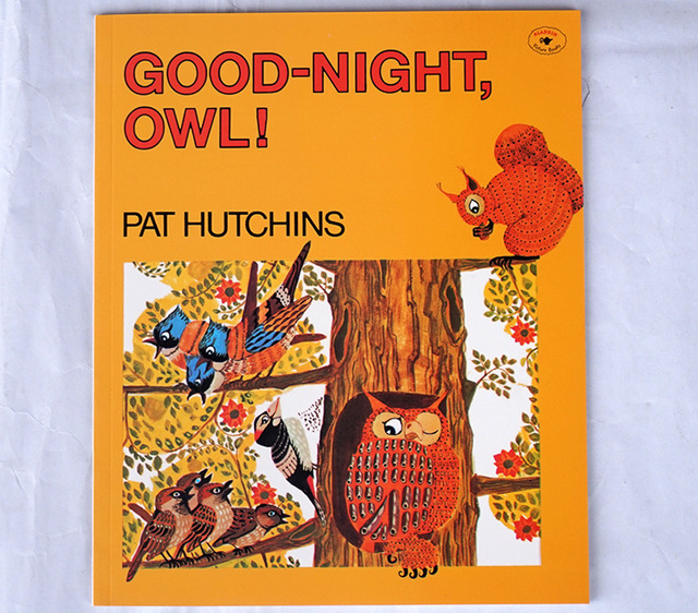Good Night Owl Book with Colorful Pictures