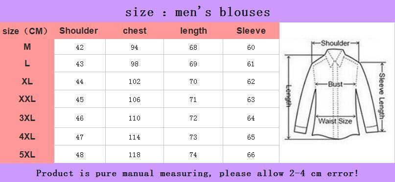 XMY3DWX Men long sleeve shirt male fashion brand new products sell like hot cakes stripe slimming leisure shirt/dress shirt 5XL 6