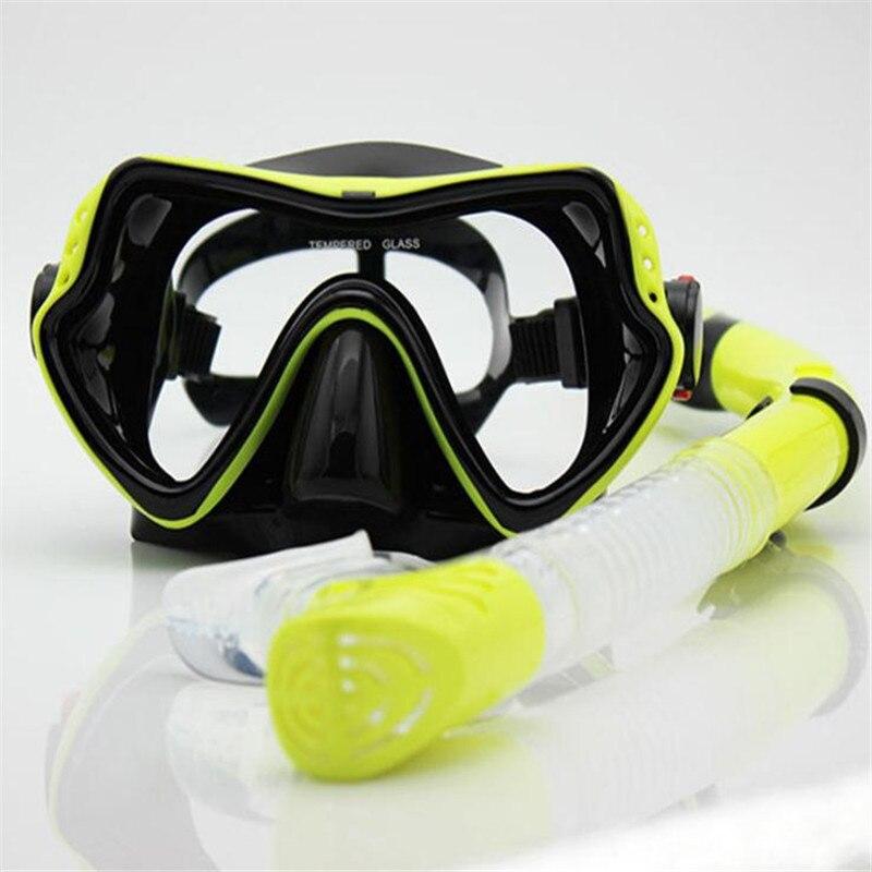 2017 Scuba Diving Maskë silikoni Snorkel Qëndrueshëm e sigurt e - Sporte ujore