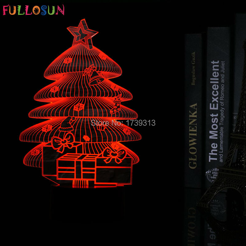christmas gifts 3d lights led usb desk table lamp 7 colors decorations 3d kids lamp in led night lights from lights lighting on aliexpresscom alibaba