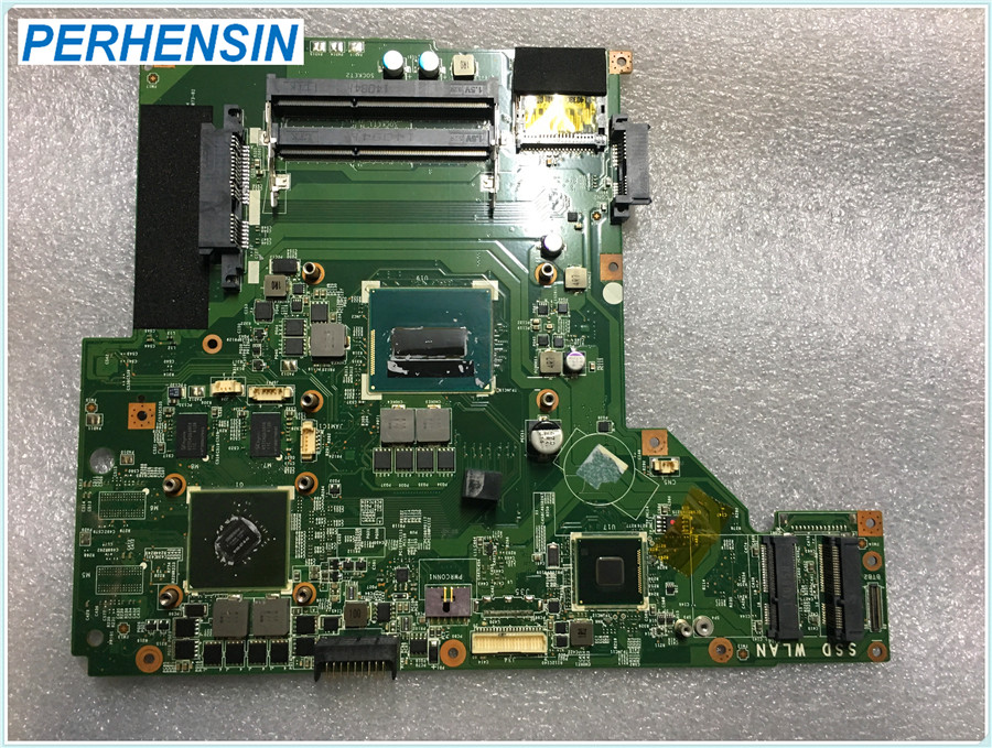 MS-16GH1 For MSI GE60 GP60 Laptop Motherboard i5-4200 SR15G N15S-<font><b>GT</b></font>-B-A2 <font><b>840M</b></font> MS-16GH Ver 1.0 100% WORK PERFECTLY image