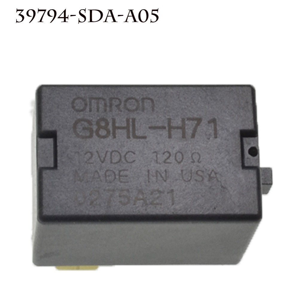 Image 4 - For Acura TL For Accord Civic Omron G8HL H71  Power Relay Assembly 12V DC A/C Compressor Relay Fuse Relay 39794 SDA A03-in Car Switches & Relays from Automobiles & Motorcycles