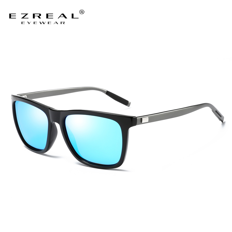 EZREAL Fashion Classic Brand Design Sunglasses Men HD Polarized Aluminum Driving Sun glasses for Men Luxury Shades UV400 #A387