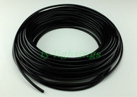 Black optical fiber cable solid PMMA for star ceiling pool lighting sauna room decoration outdoor garden light 2mmx40m