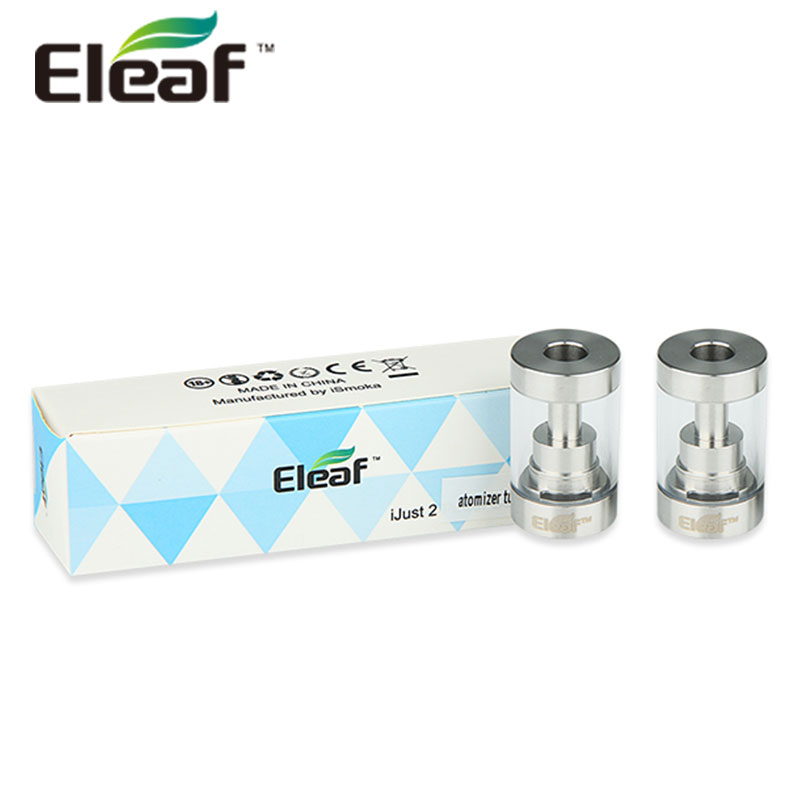 100% Original Eleaf iJust 2 BDC <font><b>Atomizer</b></font> Pyrex Glass Tube 5ml <font><b>Tank</b></font> Capacity Replaceable Pyrex Glass Tube for iJust 2 <font><b>Atomizer</b></font>