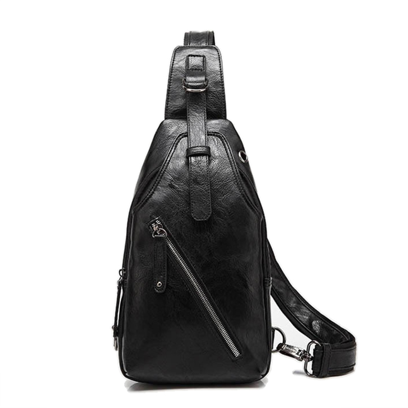 Brand nou de piept sac de moda bărbați de umăr messenger sac Casual PU din piele de telefon mobil buzunar handebag Bărbați Crossbody travel sacoșe