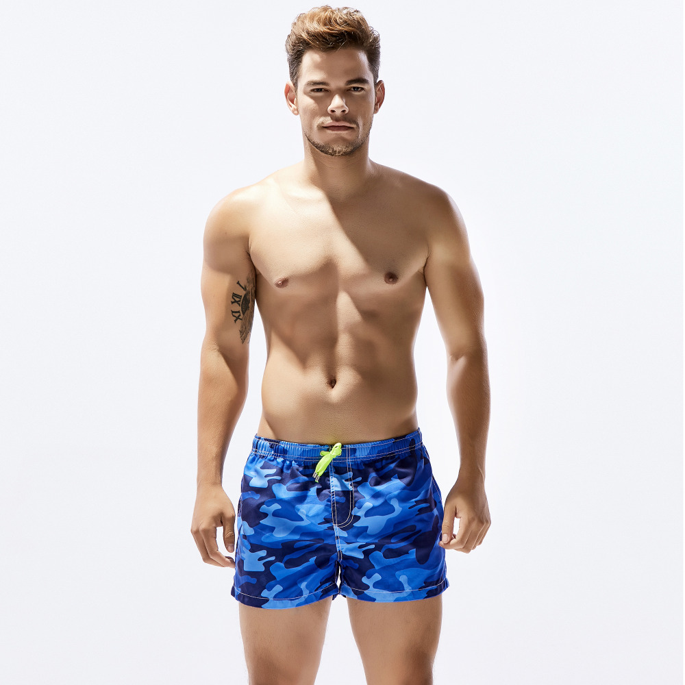 Mens Shorts swim pants printing Swimwear Surf Board camo army Swimsuit Beachwear