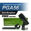 FreeShipping! PGA PGA56 Профессиональный Tom Малый Барабан Инструмент Динамический Микрофон Звуковая Система Для Сценического Шоу Студии Новый Штучной Упаковке!!