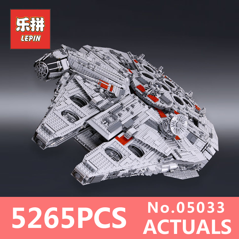 Lepin 05033 Star Wars star destroyer the millennium Falcon Building Blocks Bricks children funny DIY Toy Model LegoINGlys 10179 банный комплект softline 05033