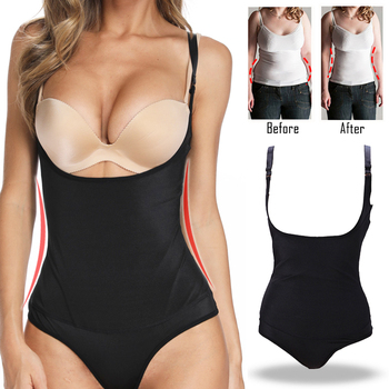 Miss Moly Shapers Latex Body Shaper Waist Cincher Trainer Underbust Slimming Shapewear Modeling Underwear Woman Thong Corset