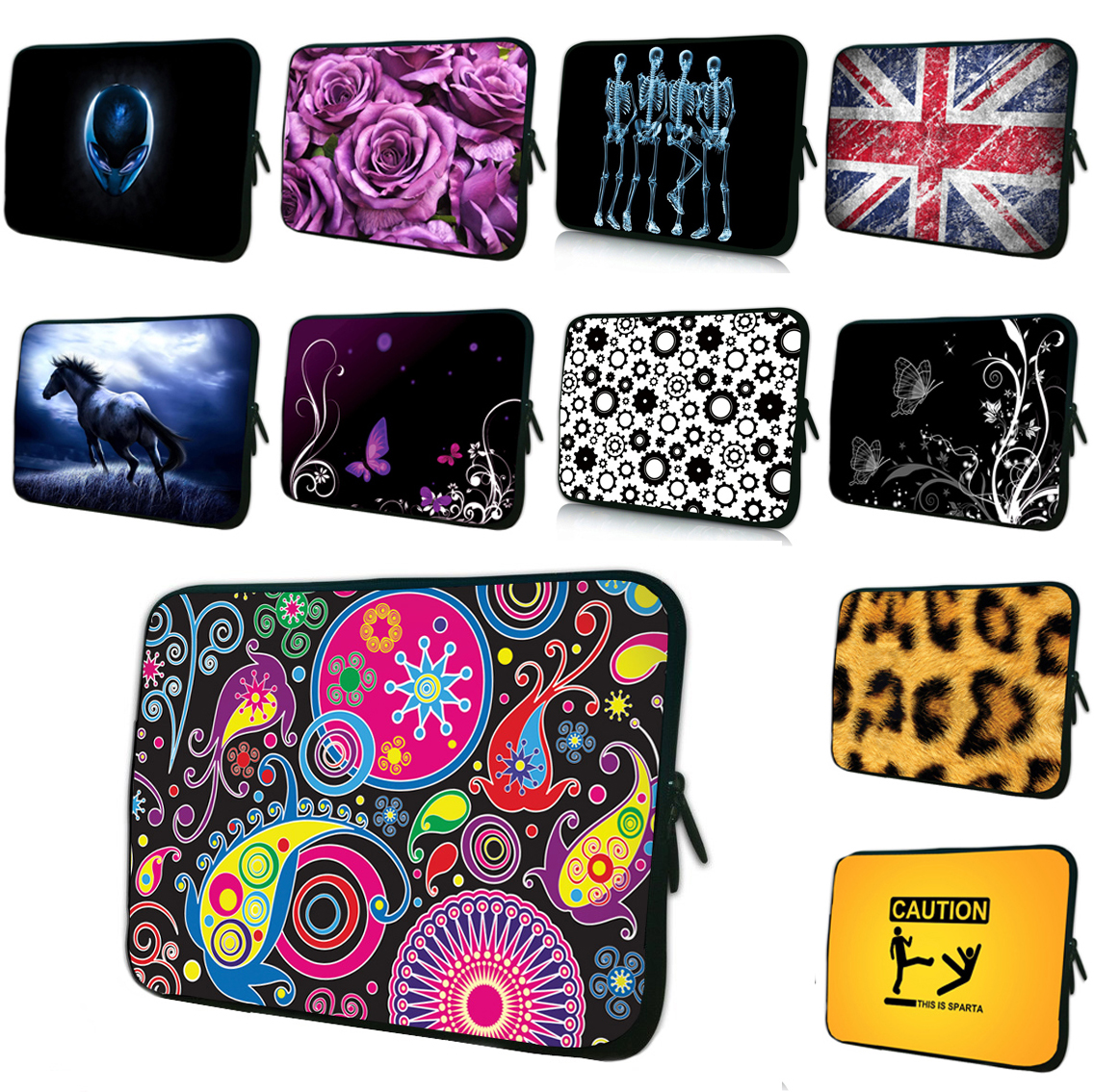 7 8 10.1 11.6 12 Netbook Inner Cases For Samsung Apple Lenovo Acer Universal 13 13.3 14 15 16 17 Inch Protector Pouch Bags
