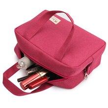 Travel Women Men Cosmetic Bag font b Makeup b font Organizer Box Case Beauty Vanity Cosmetic