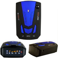 Auto 360 Degree English Russian Car Anti Radar Detector For Vehicle V7 Speed Voice Alert Warning