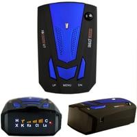 Viecar Auto 360 Stopni Angielski/Rosyjski Car Anti Radiolokacja dla V7 Voice Alert Prędkości Pojazdu Ostrzeżenie 16 Zespół Wyświetlacz LED