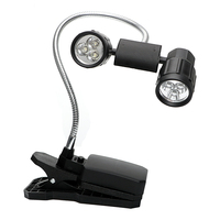 ITimo Clip On LED Clip Light BBQ Light For Camping Fishing Reading Table Lamp Mini LED