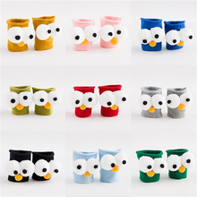 2 pairs/lot cute stereo cartoon cotton hosiery socks(China)