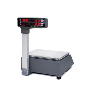 Image 5 - barcode printing Electronic weighing Scales with 10000 PLUs data storage capacity for supermarket meat shop or fruit shop