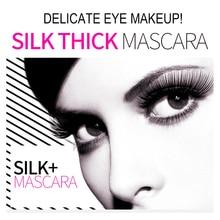 BIOAQUA Brand 2 in 1 false eyelashes + Mascara 3D Fiber Makeup eyelashes Lengthening mascara Volume Express Maquiagem Eyelash