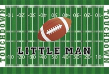 Laeacco American Football Games Little Man Touchdown Baby Scenic Photography Backgrounds Photographic Backdrops For Photo Studio